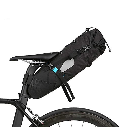 Best Review Of QIANMA Bicycle Bag Full Waterproof Cycling Bicycle Bags Saddle Bags Mountain Bike Roa...