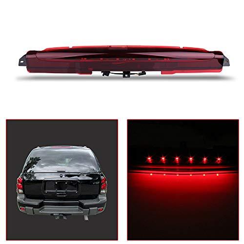 OCPTY High Mount Brake Light LED 3rd Light Replacement Rear Roof Light for 2004-2007 Buick Rainier 2002-2009 Chevrolet Trailblazer 2002-2009 GMC Envoy Excludes XUV 2003-2008 Isuzu Ascender