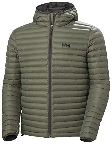 Helly Hansen Sirdal Hooded Insulator Jacket Chaqueta, Hombre, Lav Green, M