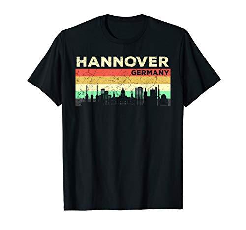 Mein Hannover Skyline Deutschland Heimat Stadt Souvenir T-Shirt