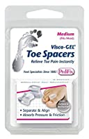 Visco-Gel Toe Spacer (Medium, Pack of 2) (並行輸入品)