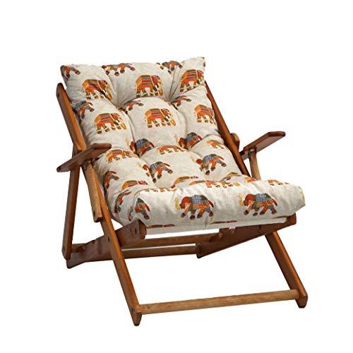 TECNOWEB Cuscino Imbottito per Poltrona Sdraio Relax (115x55x21cm) - 100% Made in Italy - Ricambio Ideale per Interni ed Esterni (Giardini, Cortili, terrazzi) - Disponibili Diversi Colori
