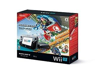 Nintendo Wii U Mario Kart 8 Deluxe Bundle 32gb black - WUPSKAGP  Renewed