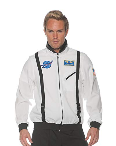Underwraps unisex Adult Astronaut Costume Jacket-White, Teen