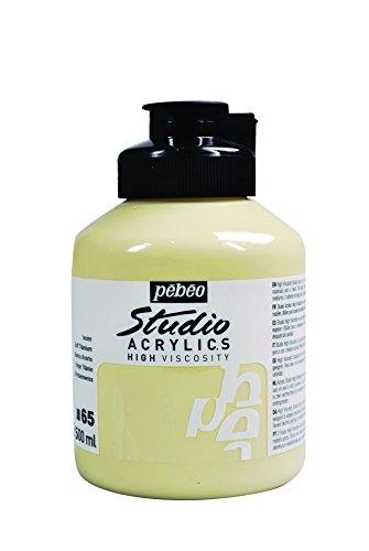 Pébéo - Pintura acrílica, color Marfil 500 ml