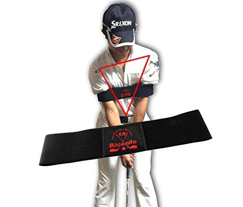 ゴルフ練習器具 スイング矯正 腕矯正ベルト スライスでのお悩み解決! (M)