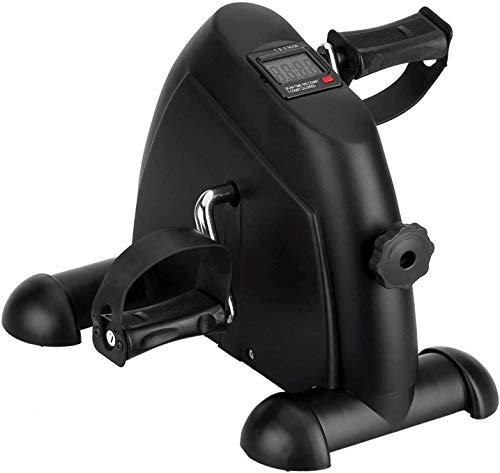 Mini Pedal de Ejercicio Estaticos para Bicicleta de Ejercicio para Brazos y Piernas con Pantalla LCD y Resistencia Ajustable