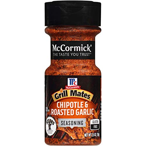 McCormick Grill Mates Chipotle & Roasted Garlic Seasoning, 2.5 oz
