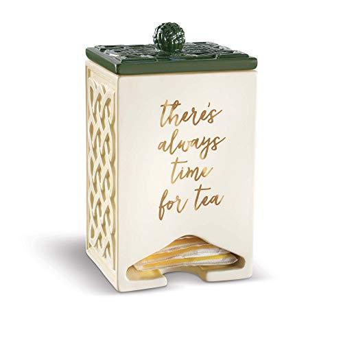 Grasslands Road There's Always Time for Tea Celtic TeaBag Dispenser