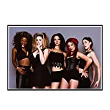 DOAQTE Spice Girls Painting Poster Room Decor Canvas Prints