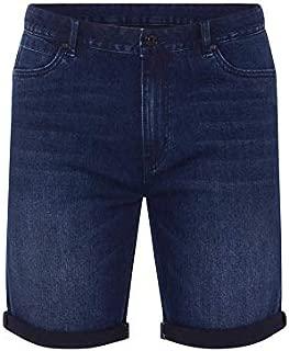Tarocash Men's McQueen Denim Short Fit Sizes 30-44 for Going Out Smart Casual
