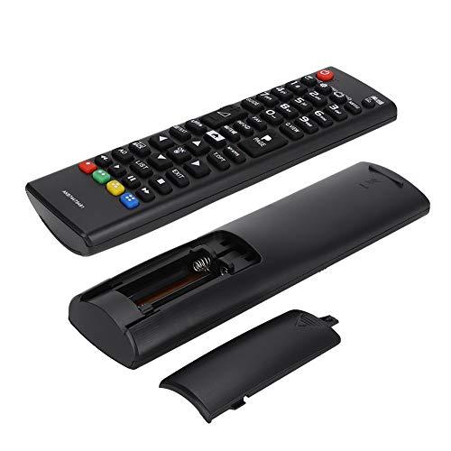 minifinker Reemplazo portátil del Control Remoto del Controlador de Smart TV para TV LCD LED