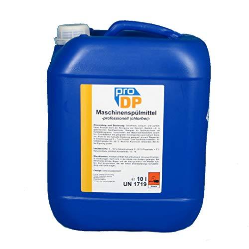 10l Pro DP Profi Maschinenspülmittel Geschirrspülmittel für gewerbliche Spülmaschinen Chlorfrei flüssig - Made in Germany