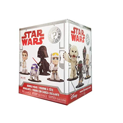 Funko Mystery Mini Blind Box: Star Wars: E5 tesb: PDQ (CDU 12), 30810, Multi , color/modelo surtido