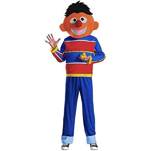 Disguise Men's Ernie Adult Costume