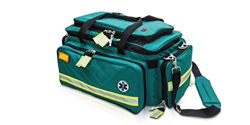 Elite Bags EMS Emergency Bag | Critical'S Emergency's Bag for The Advanced Life Support (Green) | First Responder | EMT Bag | First Aid Kit