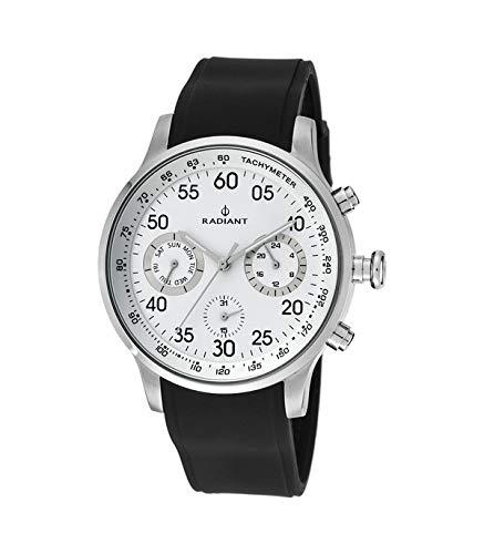 RADIANT Reloj Analógico para Hombre de Cuarzo con Correa en Silicona RA444602