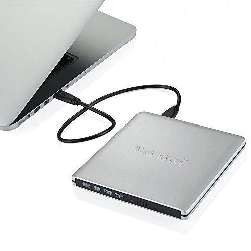 mini kitty USB3.0 Blu-Ray DVD-RW - Argent