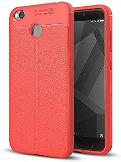 جراب اوتو فوكس لهاتف تكنو كيه 7 - احمر