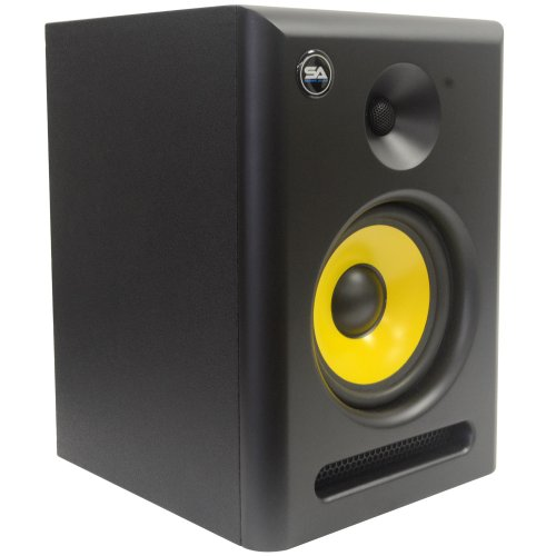 Seismic Audio Spectra-6P Active 2-Way 6-Inch Studio Reference Monitor - 75W RMS