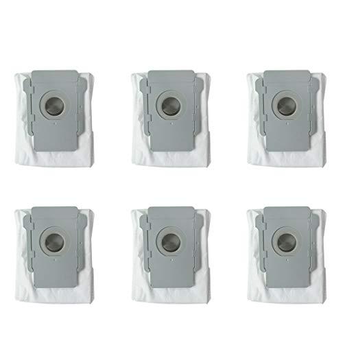 6 stücke staubsauger staubbeutel filterbeutel für irobot roomba i7 i7 + plus e5 e6 roboter staubsauger basis schmutz entsorgung ersatzteile von Yintiod