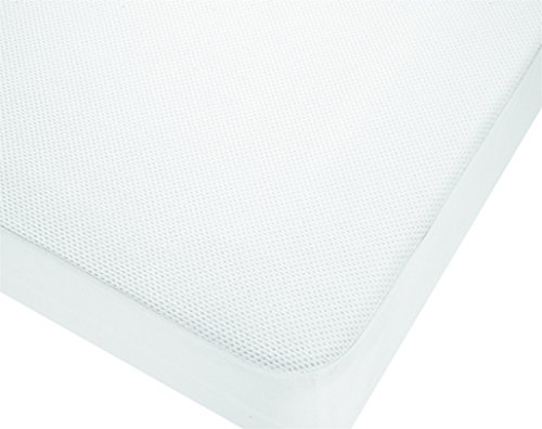 Belnou - Protector colchón 3d, cama 90x200, color blanco