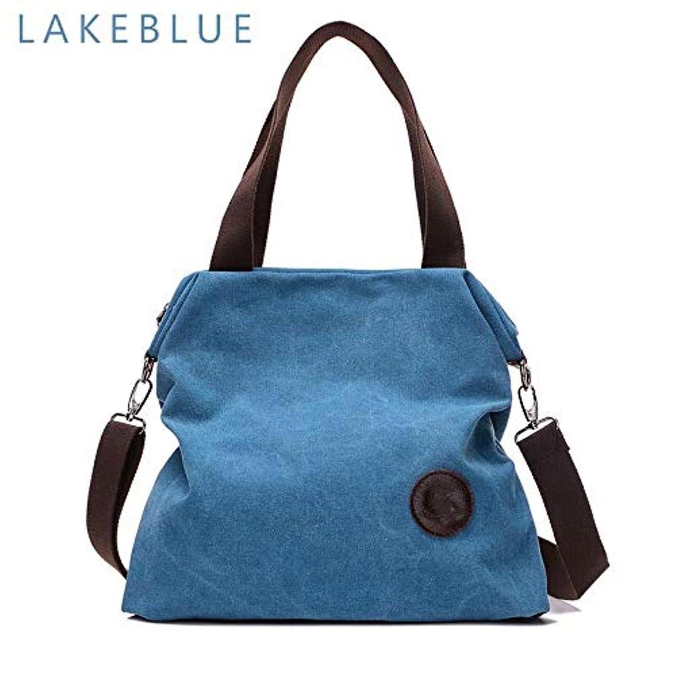 破壊的依存鳴らすLPP2019 Kvky ブランド大ポケットカジュアル女性のハンドバッグのショルダーバッグハンドバッグキャンバスレザー容量のバッグ女性小銭入れ 小さい