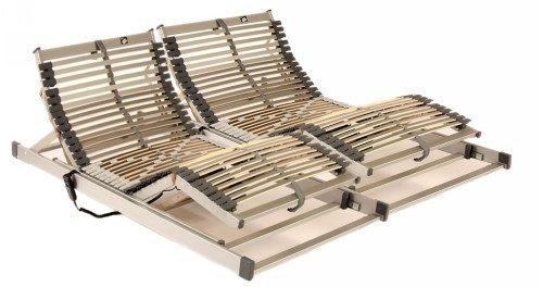 TECHNO-FLEX-Set in 180 x 200 cm --- bestehend aus 2 x Motorlattenrost mit 42 Leisten in 90 x 200 cm --- sofort lieferbar!