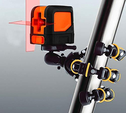 TronicXL 32,5cm 1/4 Zoll 3/8 Tripod Baustativ Stativ für Laser Nivelliergerät Linienlaser Kreuzlinienlaser MESTEK BlueRidge HANMATEK TROTEC Bosch Quigo Plus Home and Garden PLL 360 GALAX PRO