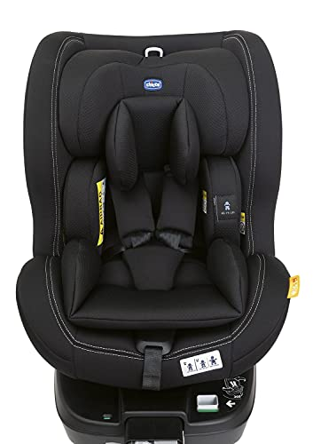 Seat3Fit i-Size - Silla de coche, color negro
