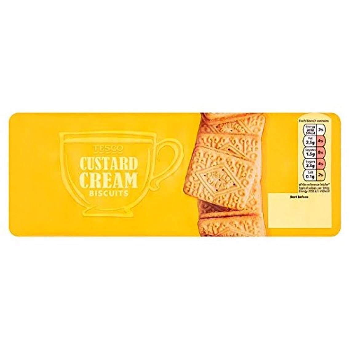 Tesco Custard Cream Biscuits 400G