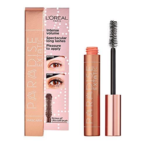 L'Oréal Paris Makeup Paradise Mascara Volumizzante e Allungante, Formula Arricchita con Oli Preziosi Nutrienti, 6.4 ml, Modelli Assortiti, Nero