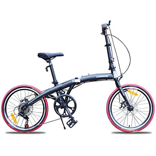 Archer Mini Bicicleta Plegable De 20 Pulgadas Super Ligero Unisex Niños Adultos...