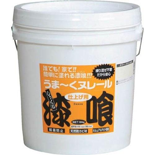 日本プラスター うま~くヌレール 18kg 白色 12UN21 (シロイロ)