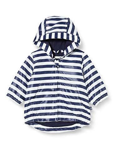 UNITED COLORS OF BENETTON Giubbino Veste de Sport, Bleu (Bianco/Blu 73m), 80/86 (Taille Fabricant: 82) Mixte bébé