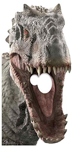 Star Cutouts Ltd- Jurassic World Indominus Rex - Soporte para dinosaurios (189 cm), Color multicolor. (SC1281)