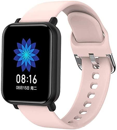 LLDKA Smart Watch Smart Watches, Wrack Watch Watch Watch Watch Men Reloj Deportivo Deportivo Deportivo Reloj Inteligente,Rosado