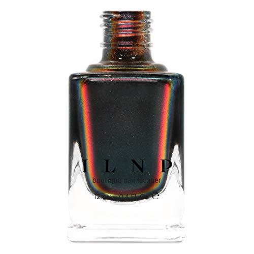 ILNP Eclipse - Black to Red Ultra Chrome Nail Polish