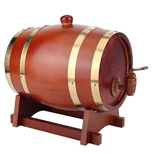 GPWDSN Oak Pine Wine Barrel, Lagerung Special Barrel Storage Bucket Bierfässer milder und geschmackvoller, Home Brew Winemaking, Oak Fässer