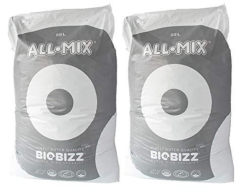 BioBizz All-Mix Pflanzsubstrat mit Perlite 100 Liter