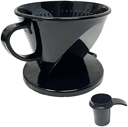 GOLDTONE 2 Cone Style Pour Over Coffee Dripper Portable Pour Over Coffee Filter BPA Free 1 6 product image