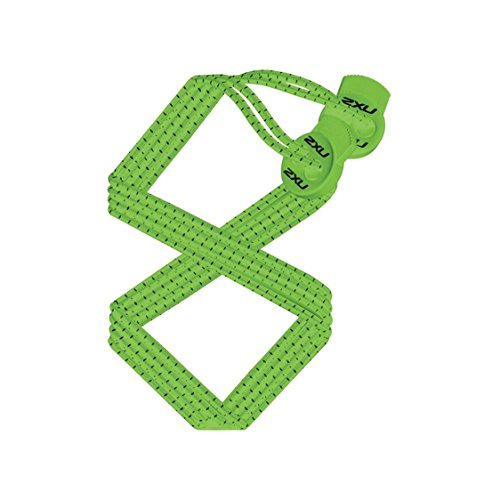 2016 2XU Performance Locked Laces Green UA1855G