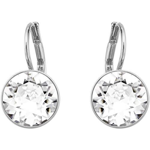 Pendientes de cristal de Swarovskiis Bella Drop Mini, con cristales transparentes y montura chapada en rodio, una parte de la colección Bella 5085608