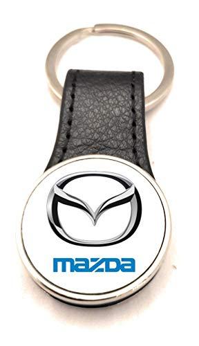 Schlüsselanhänger Stahl / Kunstleder Road Runner – Mazda (2 Seiten)