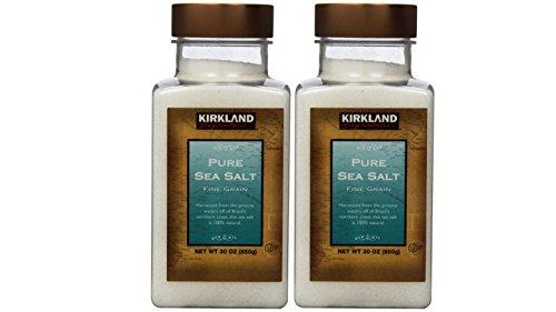 Kirkland Signature Pure Sea Salt, 30 Oz (2Count)