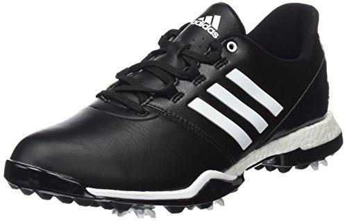 Adidas W adipower Boost 3Golf Schuhe, Damen, Damen, W Adipower Boost 3, schwarz / weiß, 38