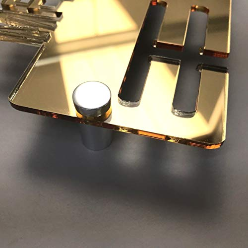 Ballet Médaille Display Hanger Holder 3 mm en Acrylique Rose Fixations et FREE POST