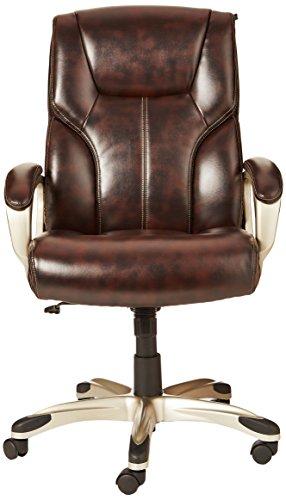 AmazonBasics High-Back Adjustable Office Chair