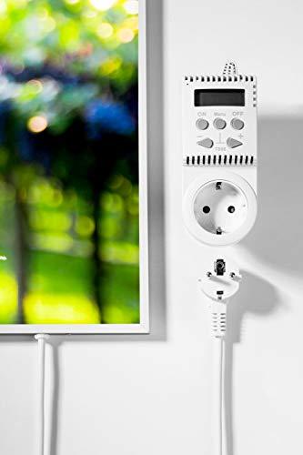 Könighaus Fern Infrarotheizung – Bildheizung in HD Qualität mit TÜV/GS – 200 Bilder – mit Thermostat 7 Tage Programm – 800 Watt (172. Trauben Auslese) kaufen  Bild 1*
