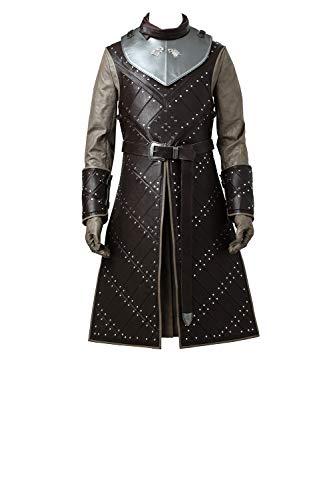 Game of Thrones VII Jon Snow Men's Cosplay Suit Cosplay Costume